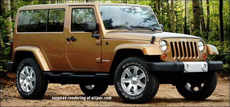 2017 Jeep Wrangler concept full hard top Jeep