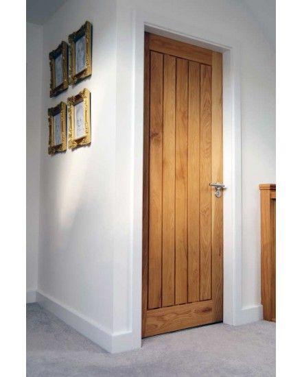 Solid Oak Mexicano Contemporary Door