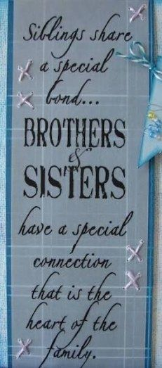 Birthday quotes for brother from sister families 22 trendy Ideas #birthdayquotesforsister