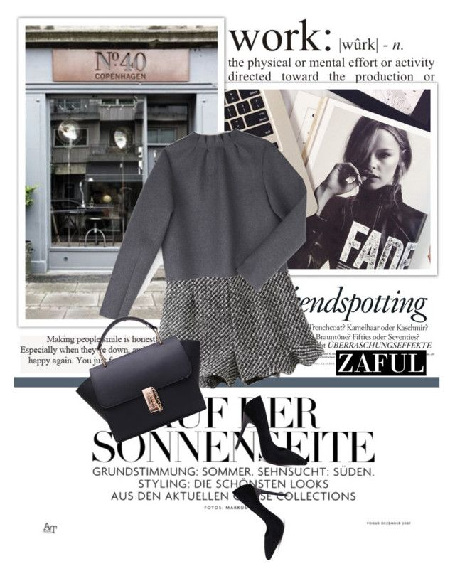 """zaful.com"" by karic-lejla ❤ liked on Polyvore featuring Melissa and J.W. Anderson"