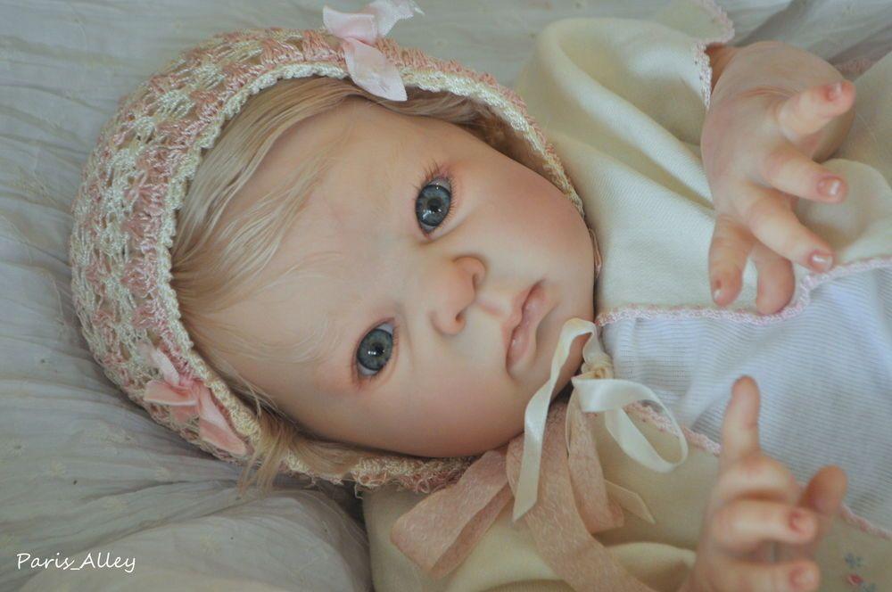 Sweet Reborn   DIMITRI   by   Adrie Stoete   OOAK   Baby Girl Doll