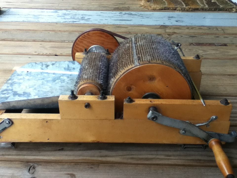 how to make a drum carder