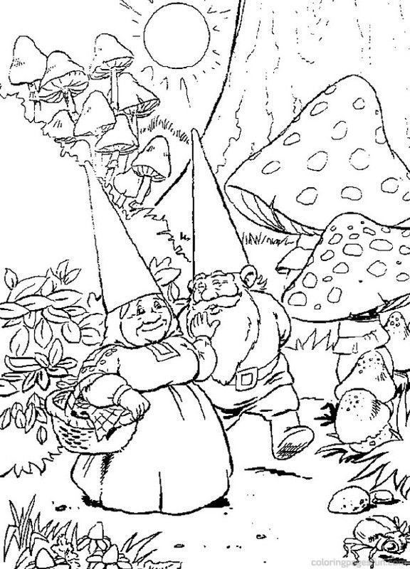 David the Gnome Coloring Pages 22 - Free Printable Coloring Pages ...