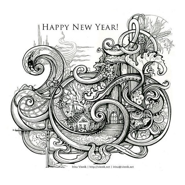 happynewyear700 by Irina Vinnik, via Flickr