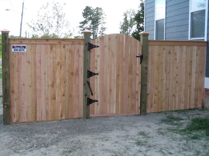 Image result for pictures of wood fences and gates yard for 4 foot fence ideas