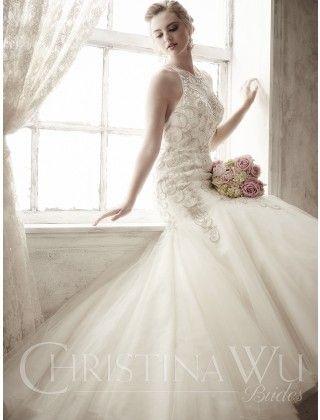 Style 15587 - Christina Wu Brides   vestidos novia   Pinterest ...