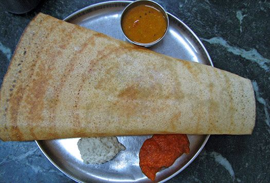 3) Masala dosa – Chennai, India one of my all time favorite foods