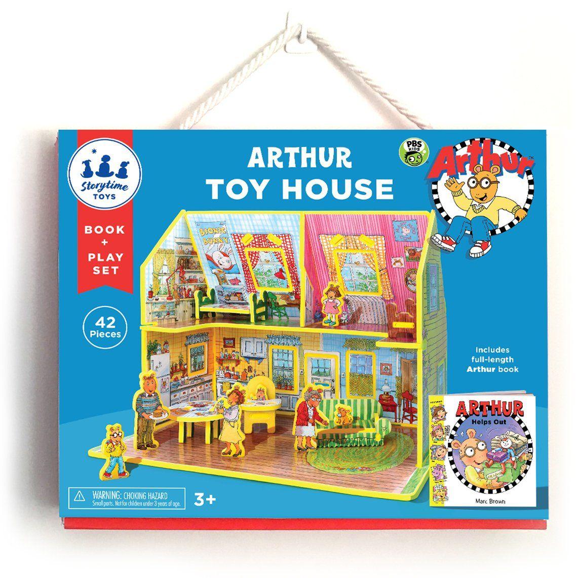 Arthur toy house toy house house book playset