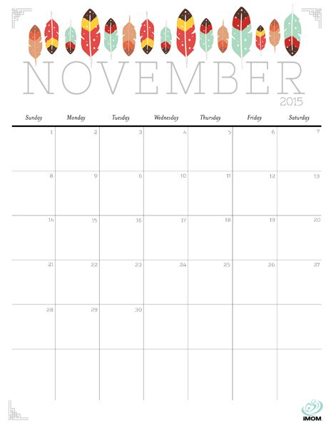 Cute And Free 2015 Printable Calendar With Images Calendar
