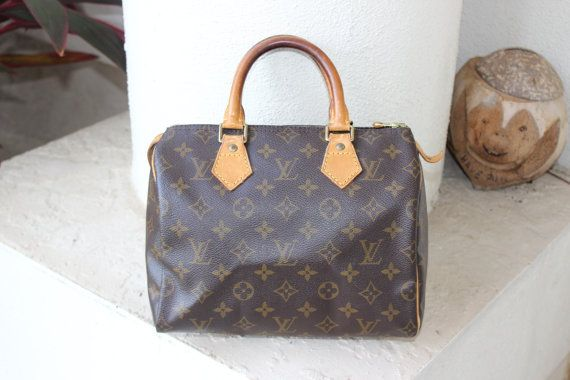 Authentic Louis Vuitton 25 Monogram  Lock And by KimberlysTreasures