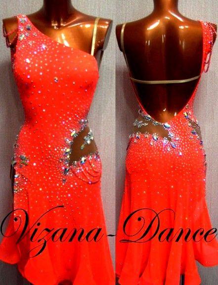 Платье латина Юн-2 Продано Визана-Данс платья для ...