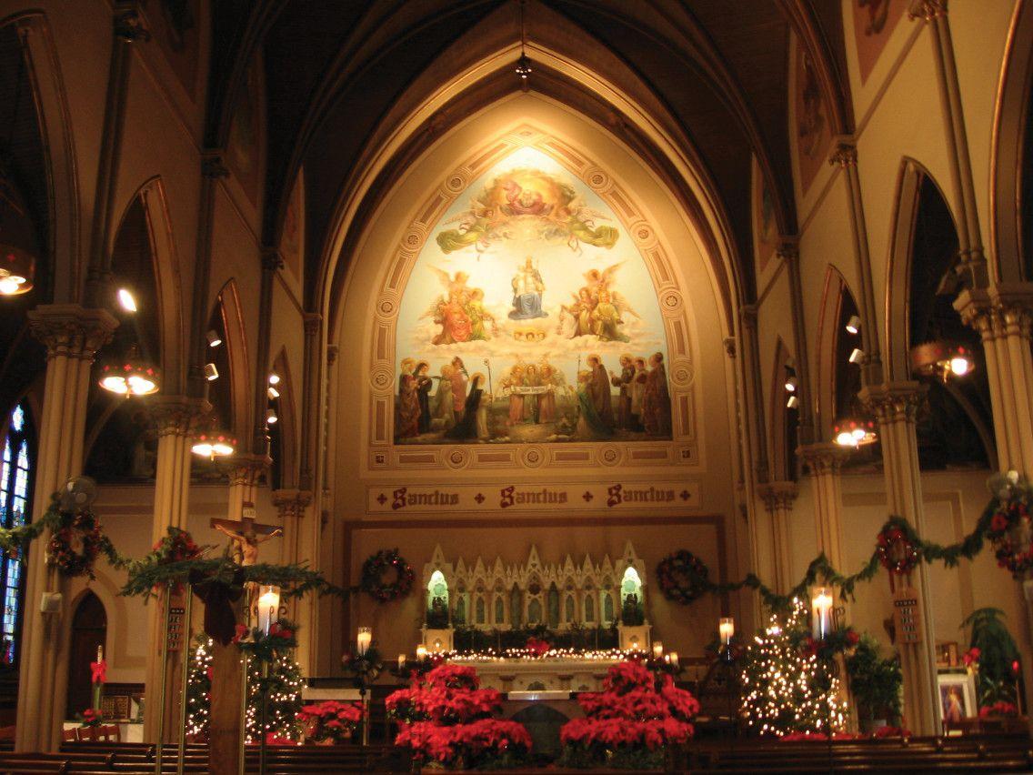 christmas at church | ... Roman Catholic Church, Long Island City ...