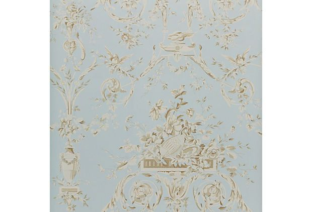 Annabella Damask, Sky Blue on OneKingsLane.com