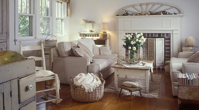 Decoration Maison Campagne Chic Inspiration Cuisine Style Campagne ...