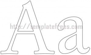 Printable Alphabet Letters  Printables    Printable