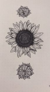 Photo of 58+ Trendy Tattoo Sunflower Line,  #blacktattooshoulder #Line #Sunflower #tattoo #trendy