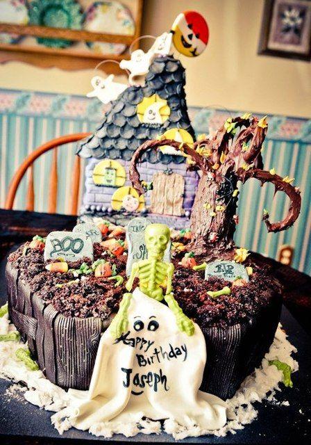 Halloween Birthday party Birthday Party Ideas Pinterest - halloween birthday cake ideas