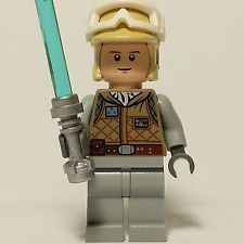 Minifigura Lego Star Wars Lote Luke Skywalker Hoth 8089