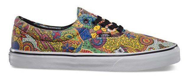 weird vans shoes