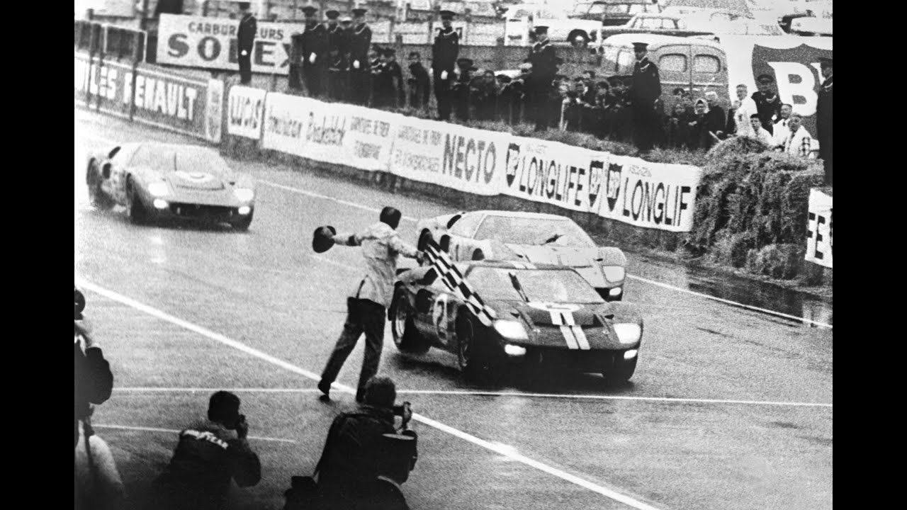 8 Meters Triumph Tragedy And A Photo Finish At Le Mans Ford