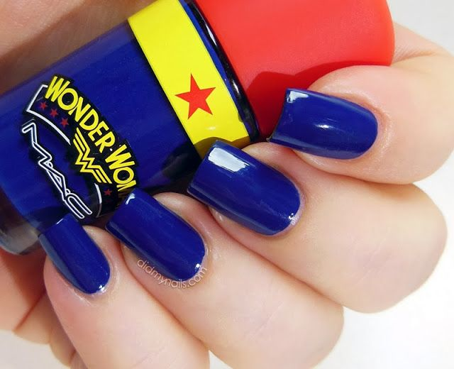 Mac Wonder Woman Spirit Of Truth Swatch You Got Nail Pinterest