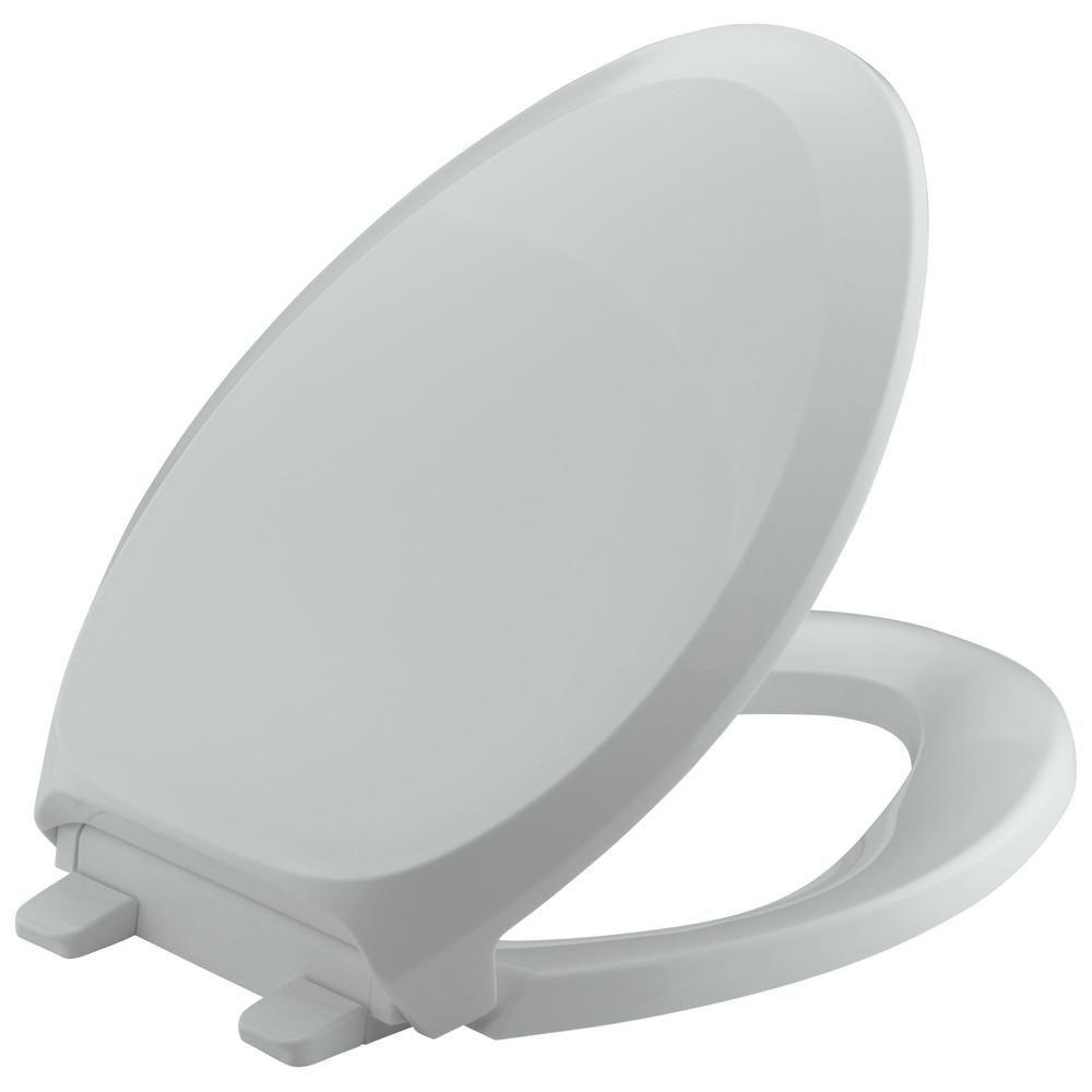 Kohler French Curve Quiet Close Elongated Closed Front Toilet Seat