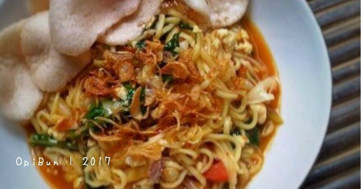 Resep Mie Godog Oleh Opibun Resep Resep Masakan Resep Makanan Resep