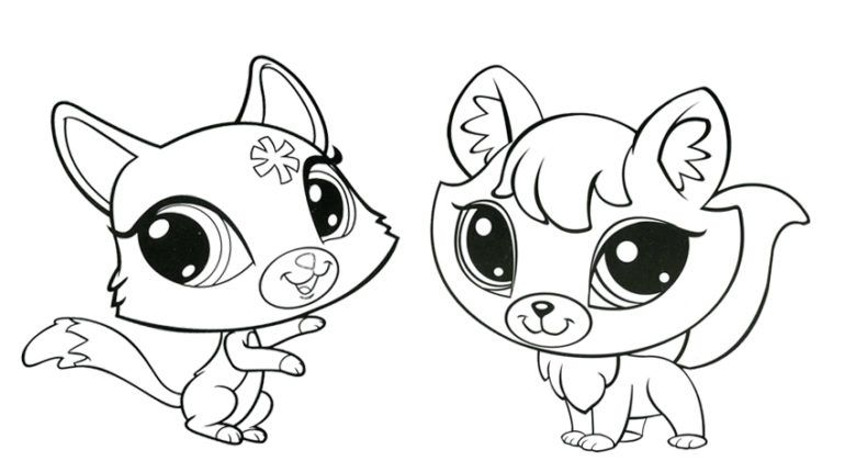 Lps Coloring Pages Fox Yahoo Search Results Yahoo Image Search Results Little Pet Shop Coloring Pages Kittens Coloring