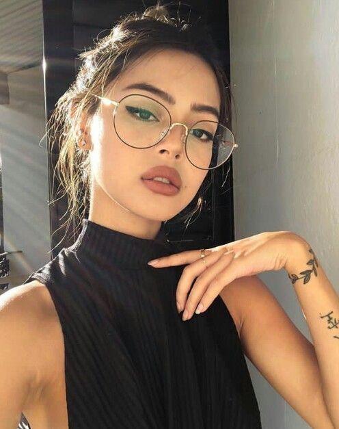 Pin De Hosanna Em Girlss Oculos Para Rosto Redondo Maquiagem