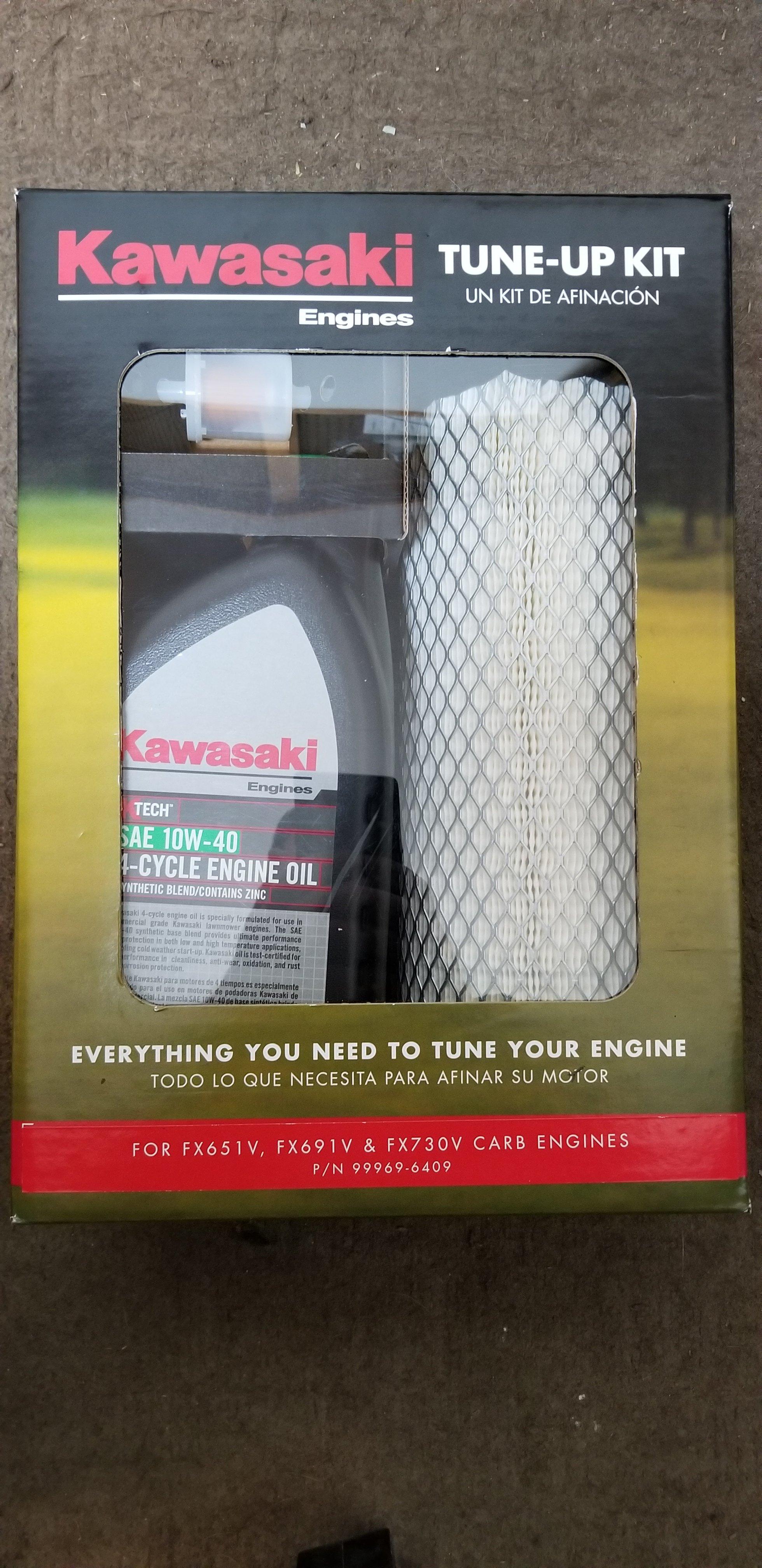 99969-6409 Kawasaki Engine Maintenance Kit FX651V, FX691V, and