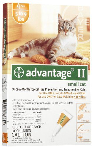 Advantage 9 Topical Solution Bayer Cats Kittens Under 9 Lbs 724089378699 See This Awesome Image Cat Fleas Cats Small Cat