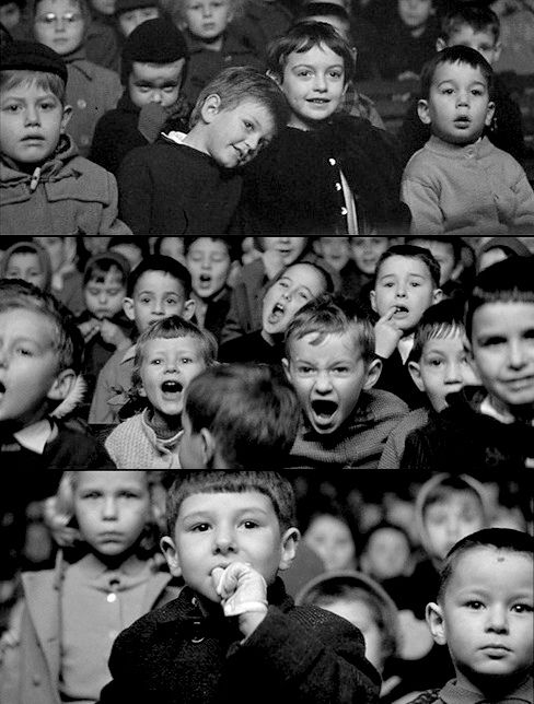 Captures from Truffaut's, The 400 Blows (1959)