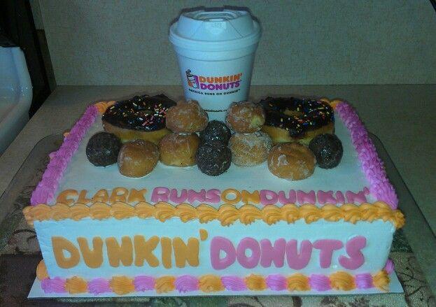 Dunkin Donuts Cake I Made