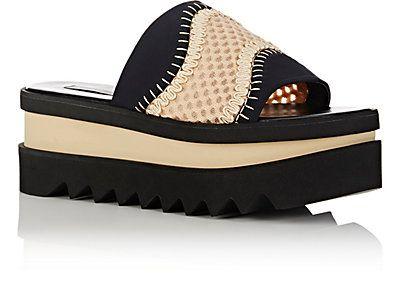 Stella McCartney Wave Platform Slide Sandals - Platforms - 505059992