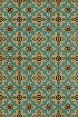 Pattern 33 I am not a bumblebee - vintage look vinyl floor cloths