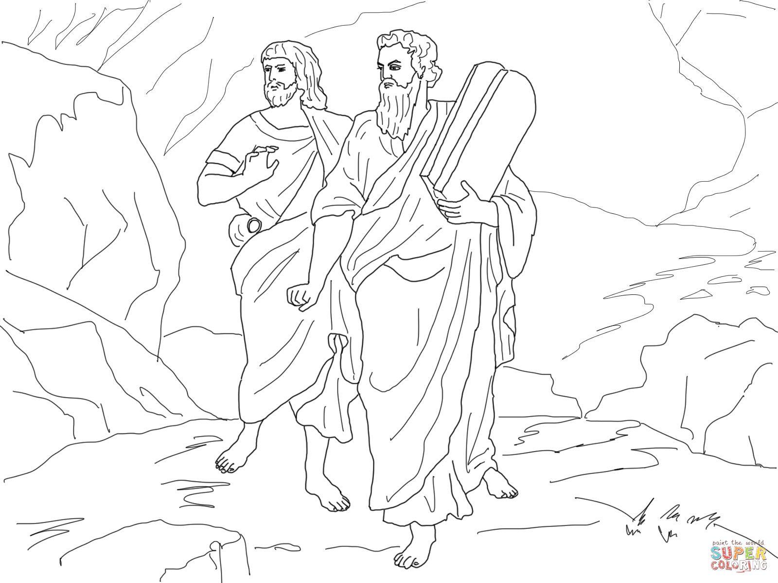 joshua coloring pages - Căutare Google | biblie copii | Pinterest