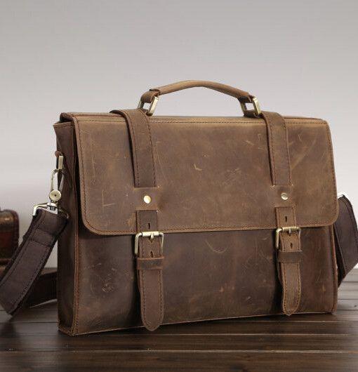 leather messenger bag men - Google Search | Fashion set | Pinterest