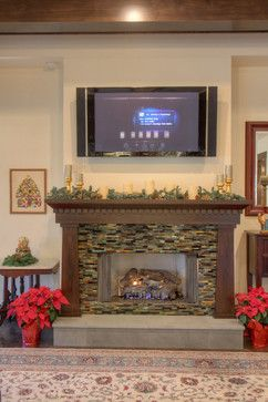 Craftsman Mantel Design Ideas, Pictures, Remodel, and Decor - page 2