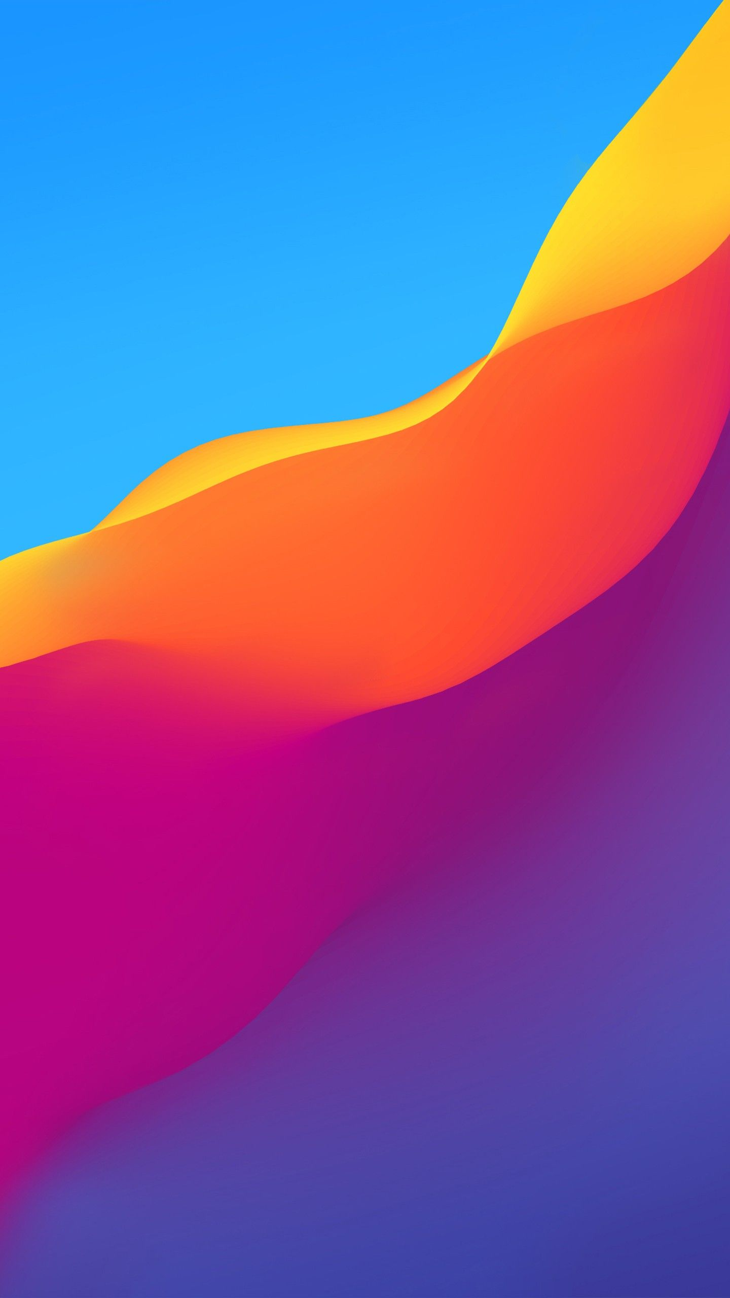 Abstract Colorful Gradient Waves Honor Play Stock Wallpapers Stock Wallpaper Xiaomi Wallpapers Minimalist Wallpaper