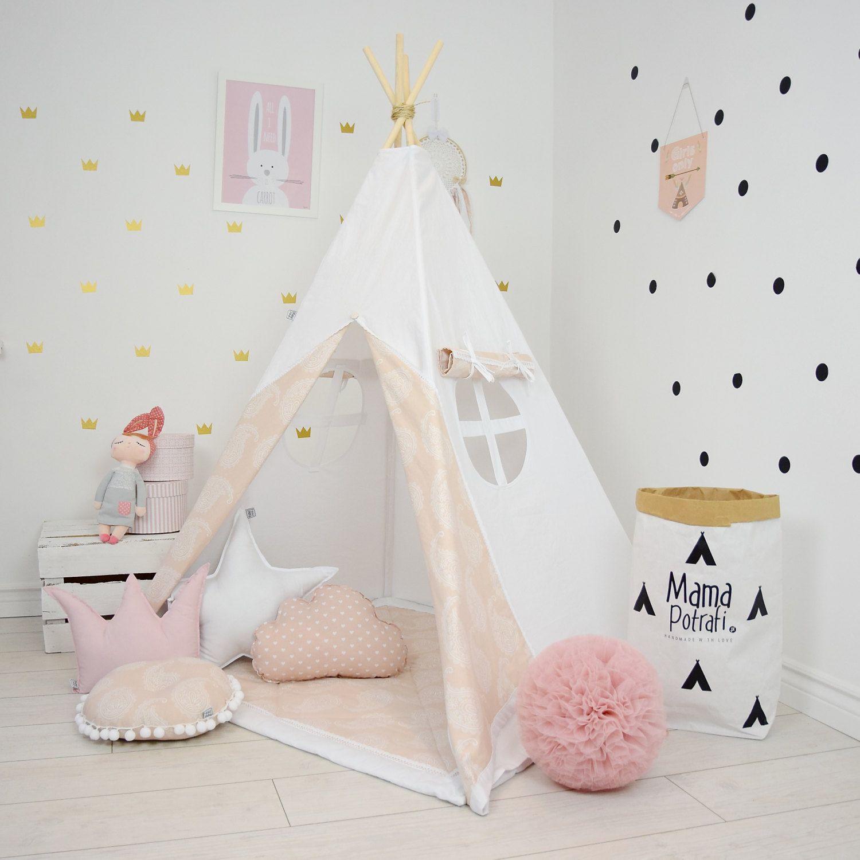 Teepee Set Kids Play Tent Tipi Kid Play Teepee Child Teepee Wigwam Zelt Tente- Soft  sc 1 st  Pinterest & Teepee Set Kids Play Tent Tipi Kid Play Teepee Child Teepee Wigwam ...