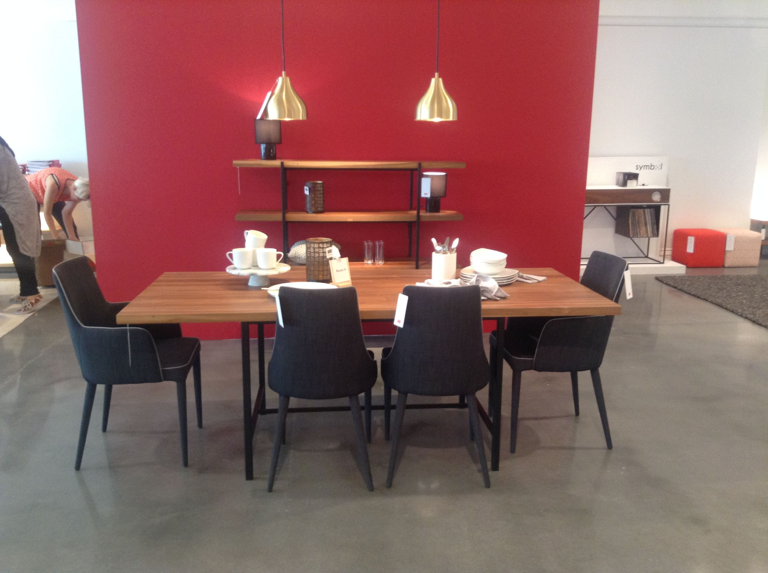 The Kendall Reclaimed Teak Dining Table From Eq3 Showroom 400