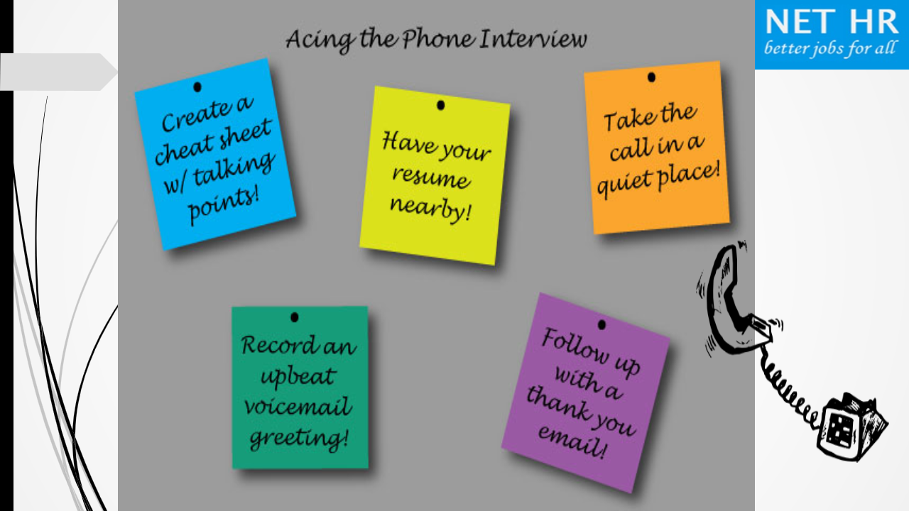 Follow These Phone Interview Tips ! Foe More Visit At