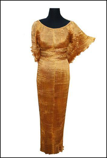 Brown Anniversary Dress