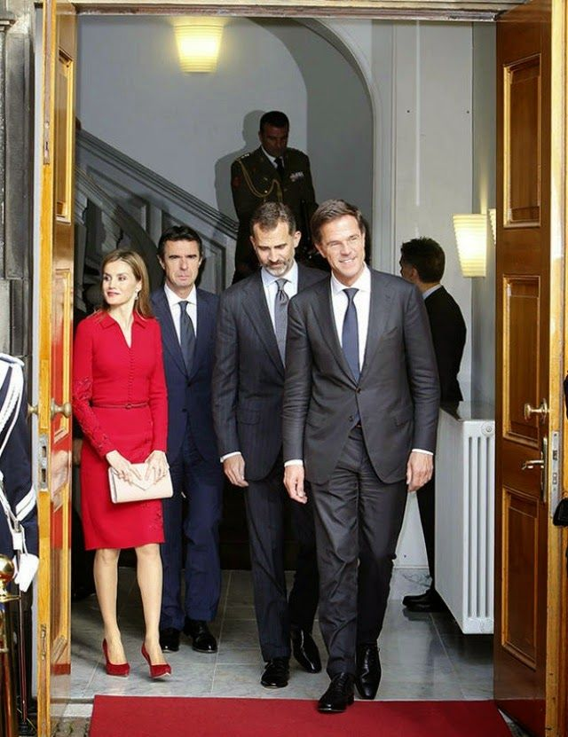 15 October 2014 Introductory visit to the Netherlands King Felipe and Queen Letizia went to the Netherlands to introduce themselves as the rulers of the Spain.
