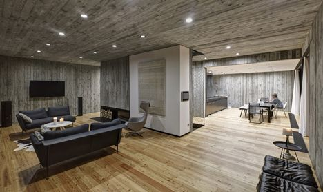 Timber Clad House With Textured Concrete Interior By Ultra Architects