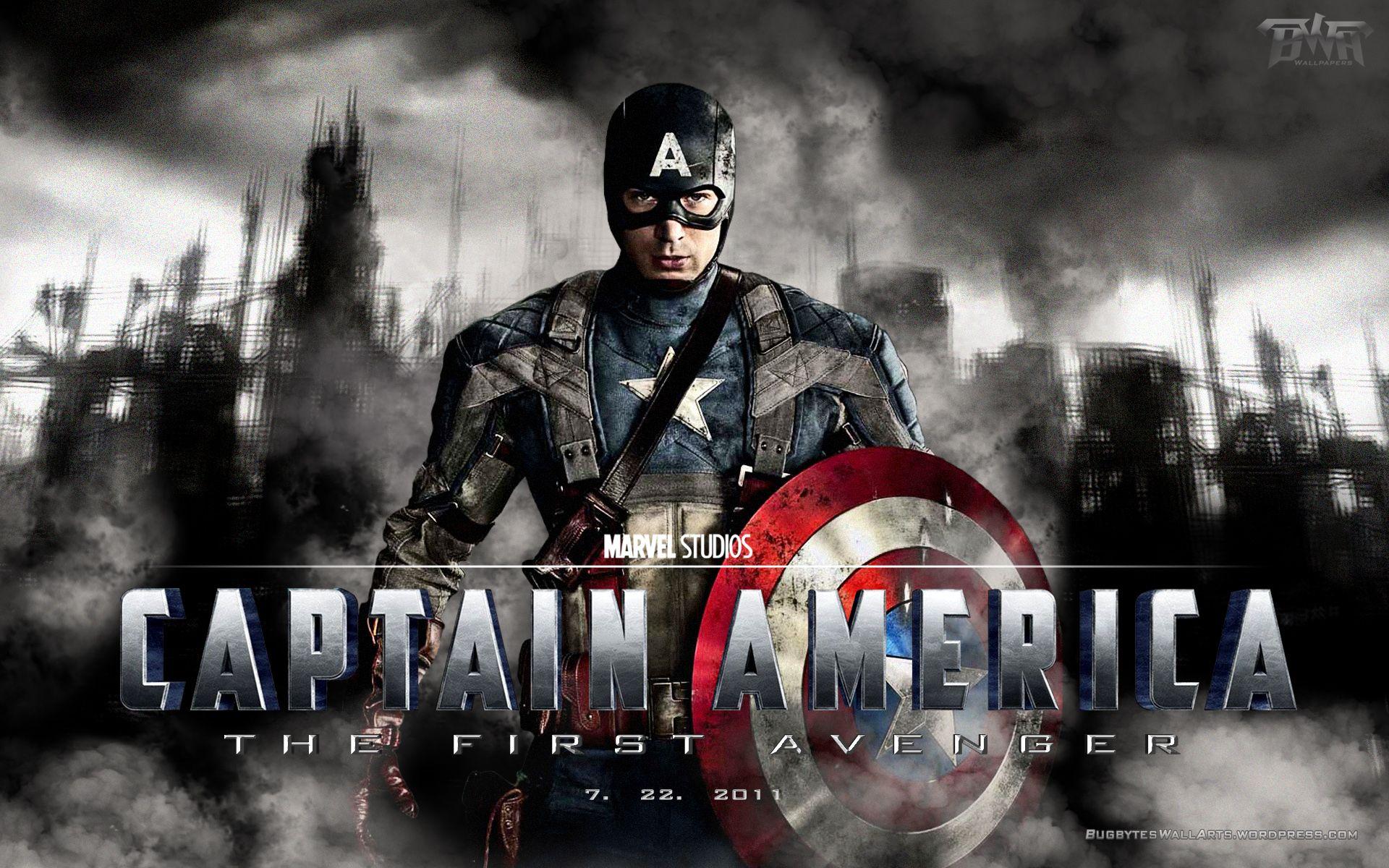 Avengers Pinterest: Captain America The First Avenger Wallpaper