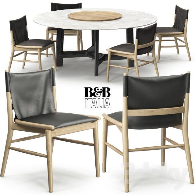 Jens chair Alex table B&B Italia   Tafel   Pinterest   Italia