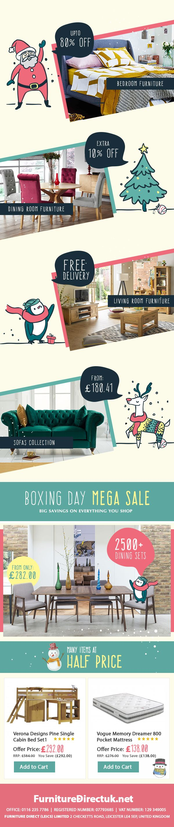 Boxing Day Furniture Sale 2018 Starts From 22th December Big