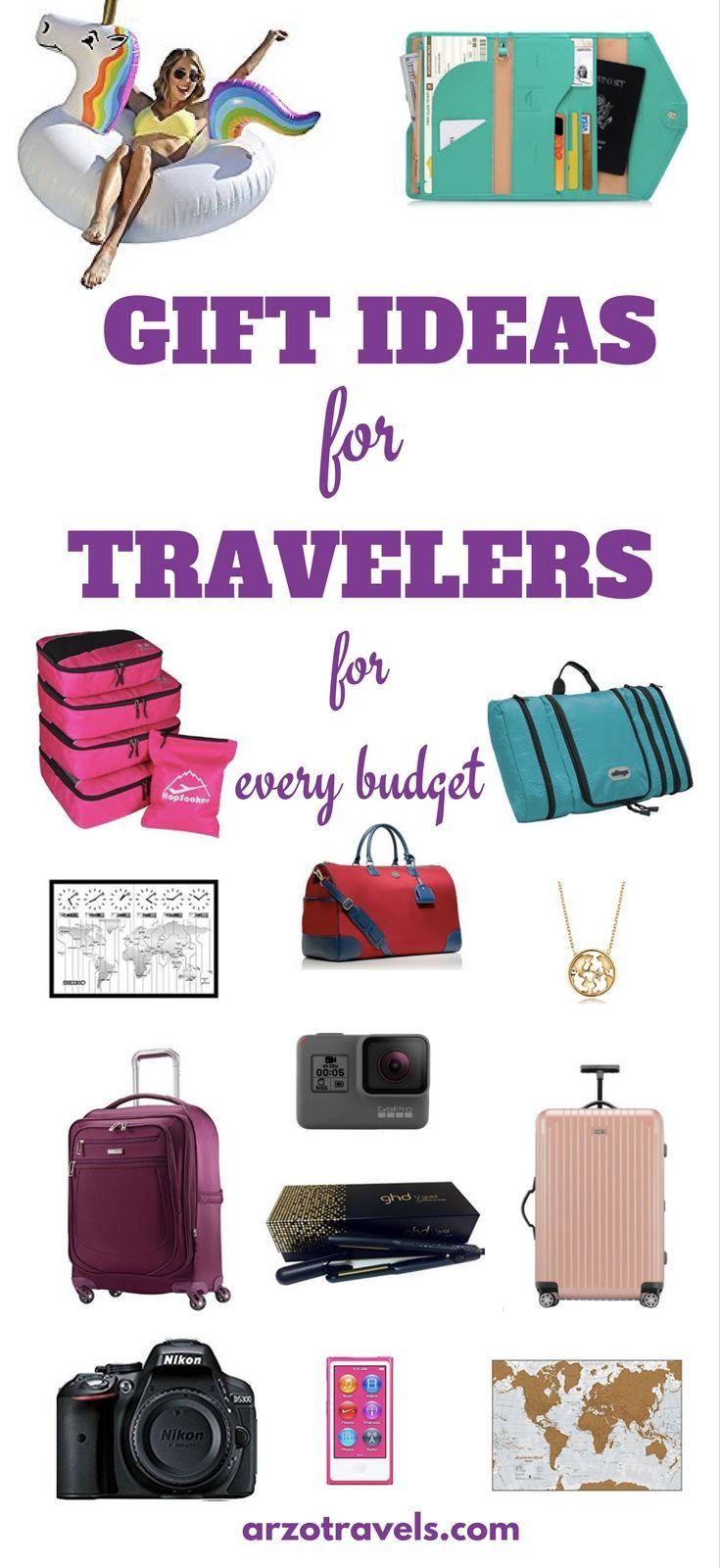 Gift Ideas: Travel Gift Ideas For Her   Best travel gifts ...