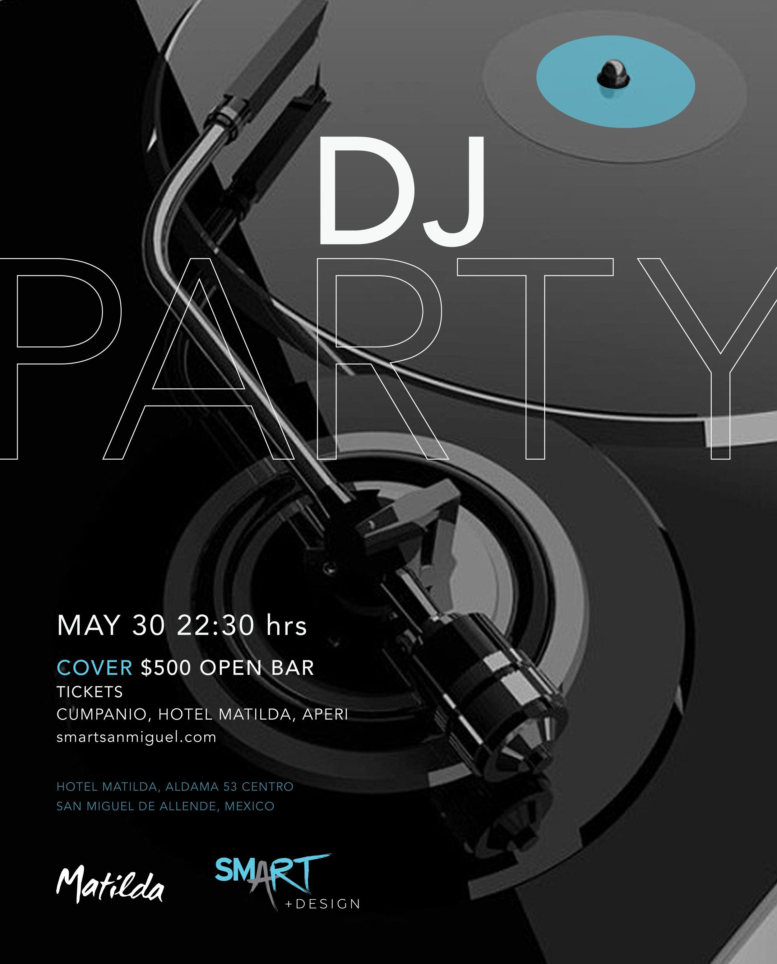 DJ PARTY SMART+design SMA